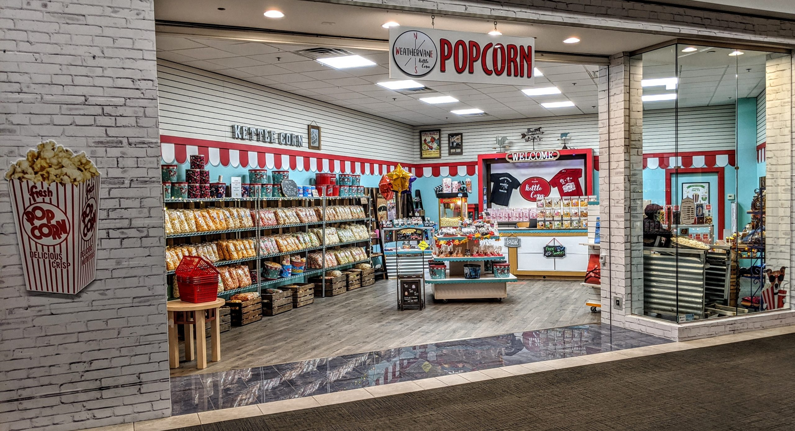 Popcorn store